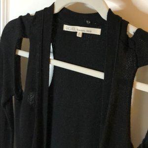Black tunic Sweater with cutouts Rachel Roy